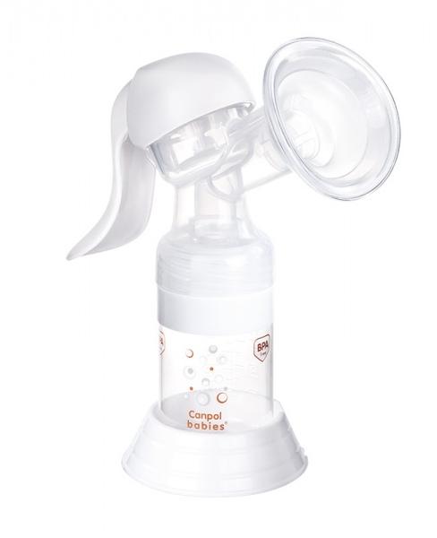 Laktator ręczny Canpol Babies Basic