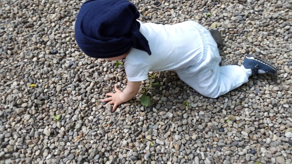 Rumpel poznaje podłoże kamieniste