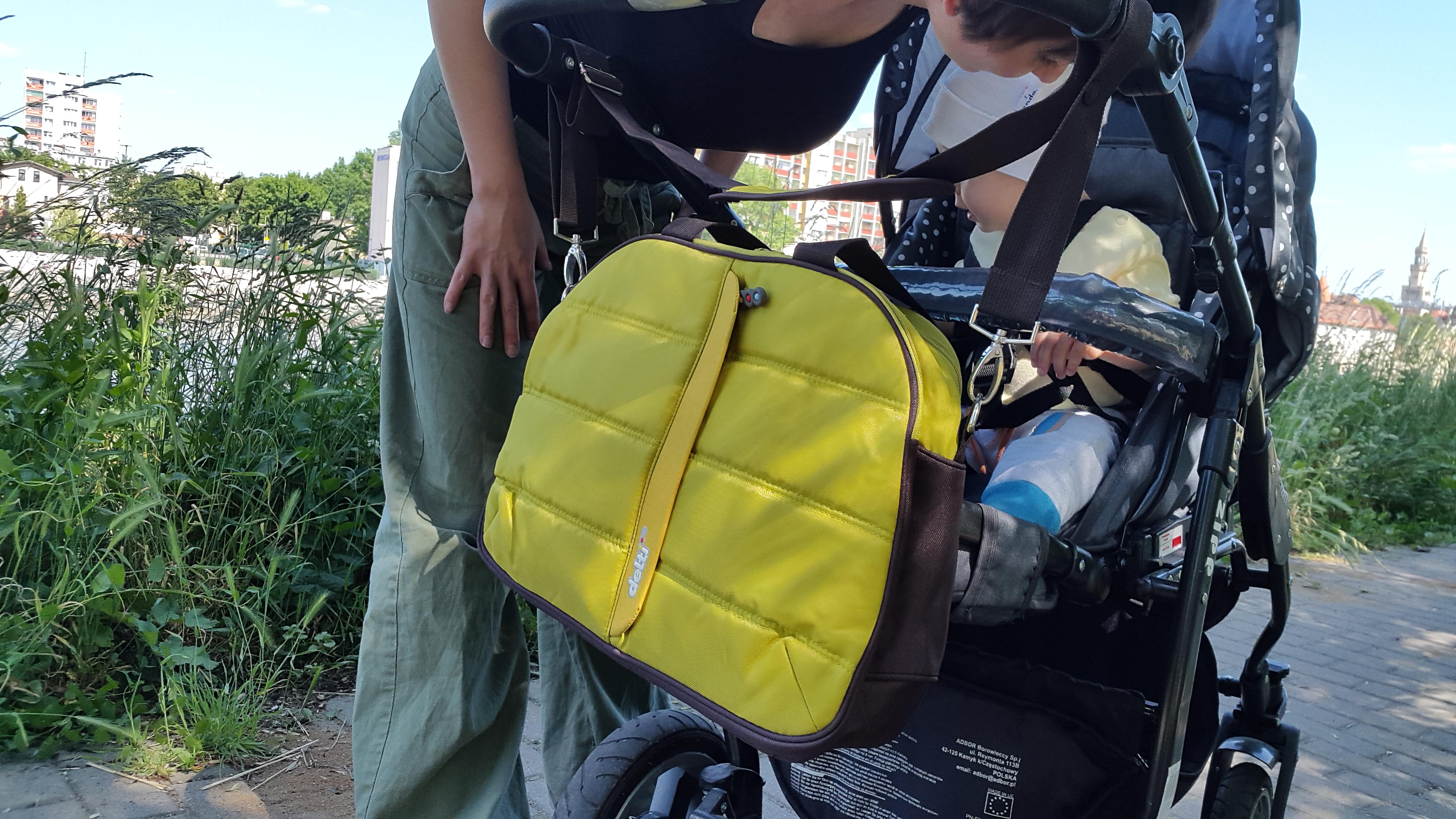 torba w terenie czyli z Rumplem na spacerze