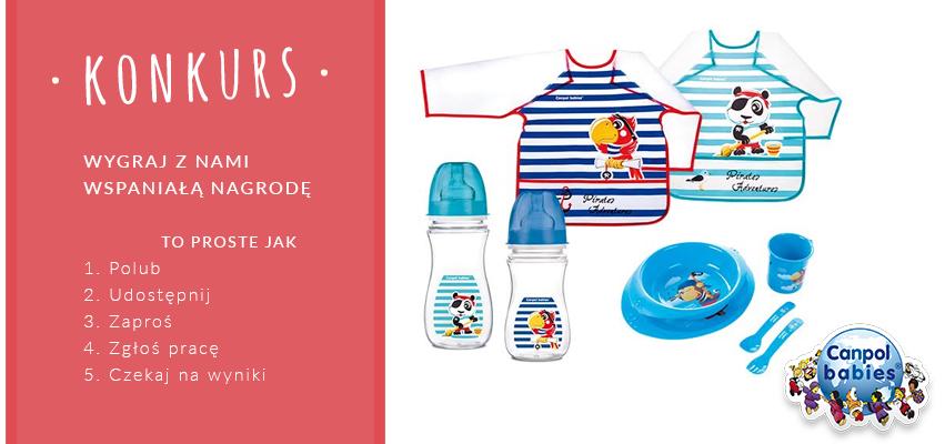 konkurs Canpol Babies sierpień 2015