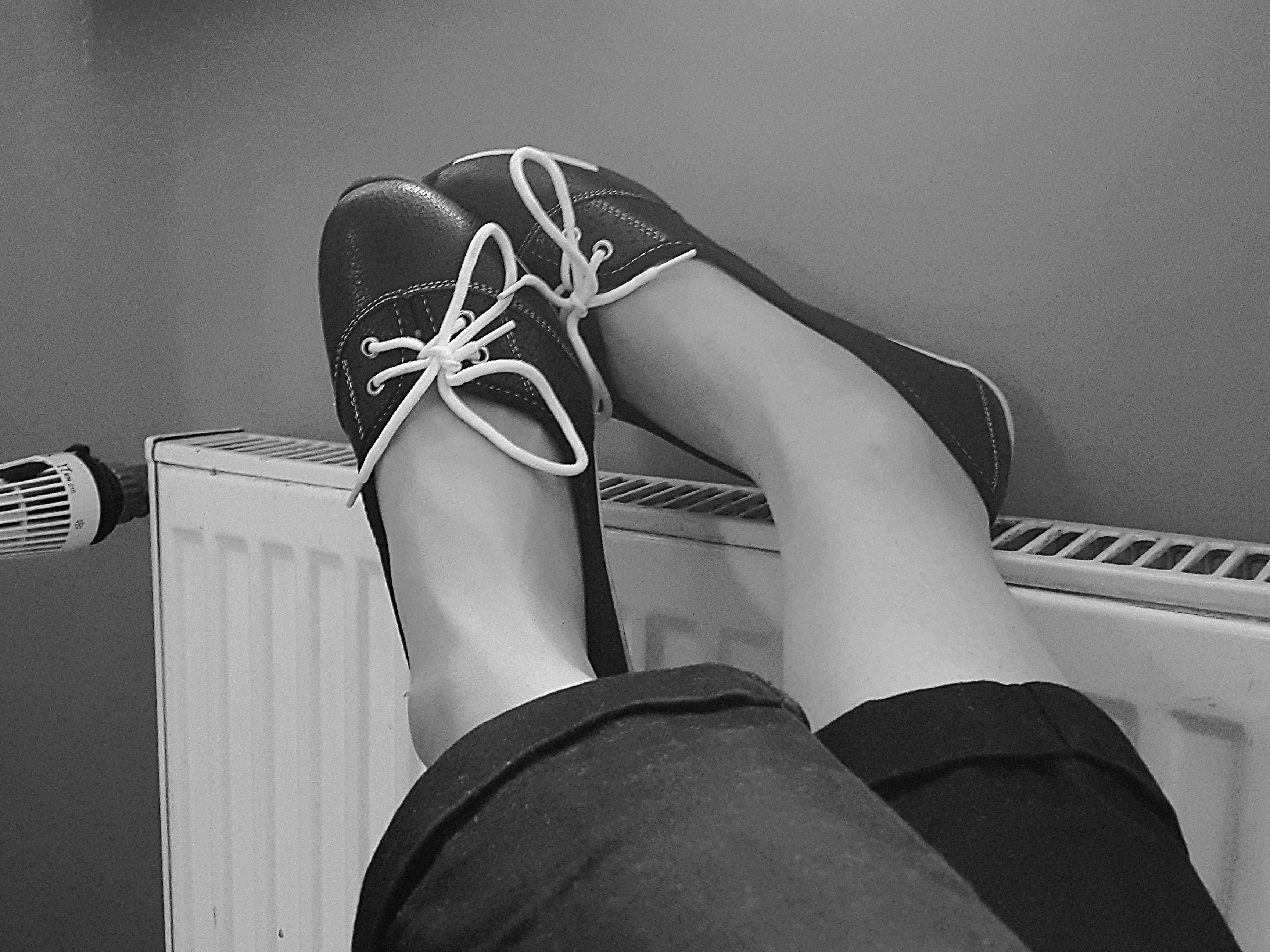 Nogi w górze - czas na relaks