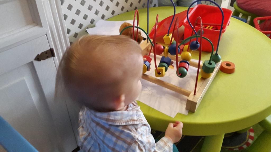 Kącik zabaw w Rukoli