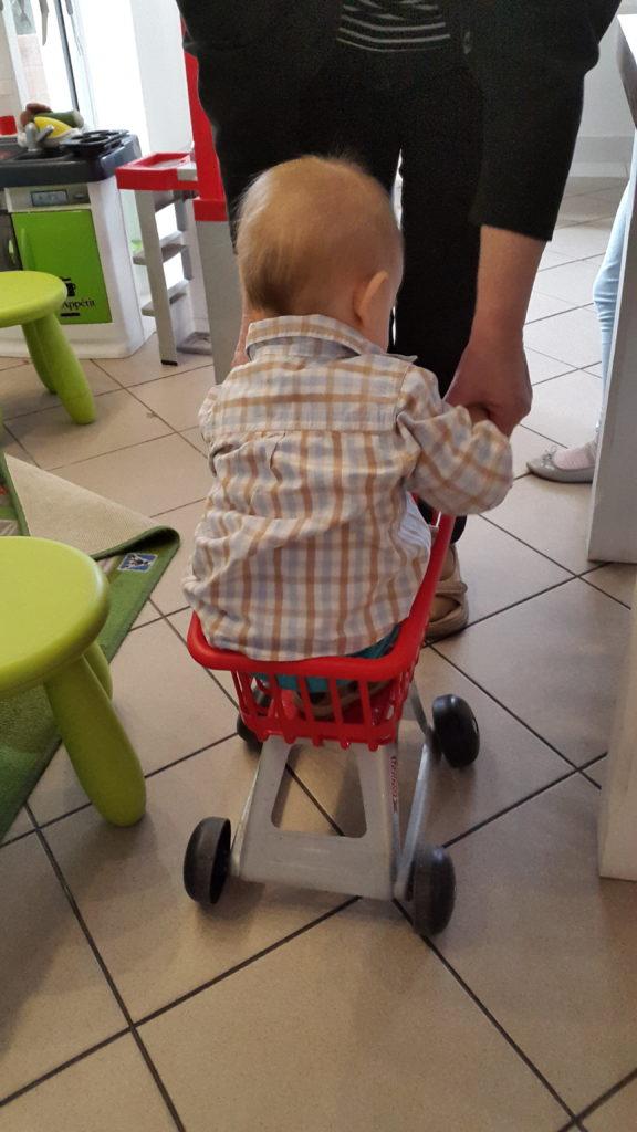 Kosz do sklepiku dziecięcego