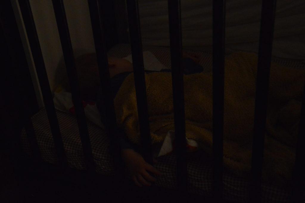 Słodko śpiący Rumpel
