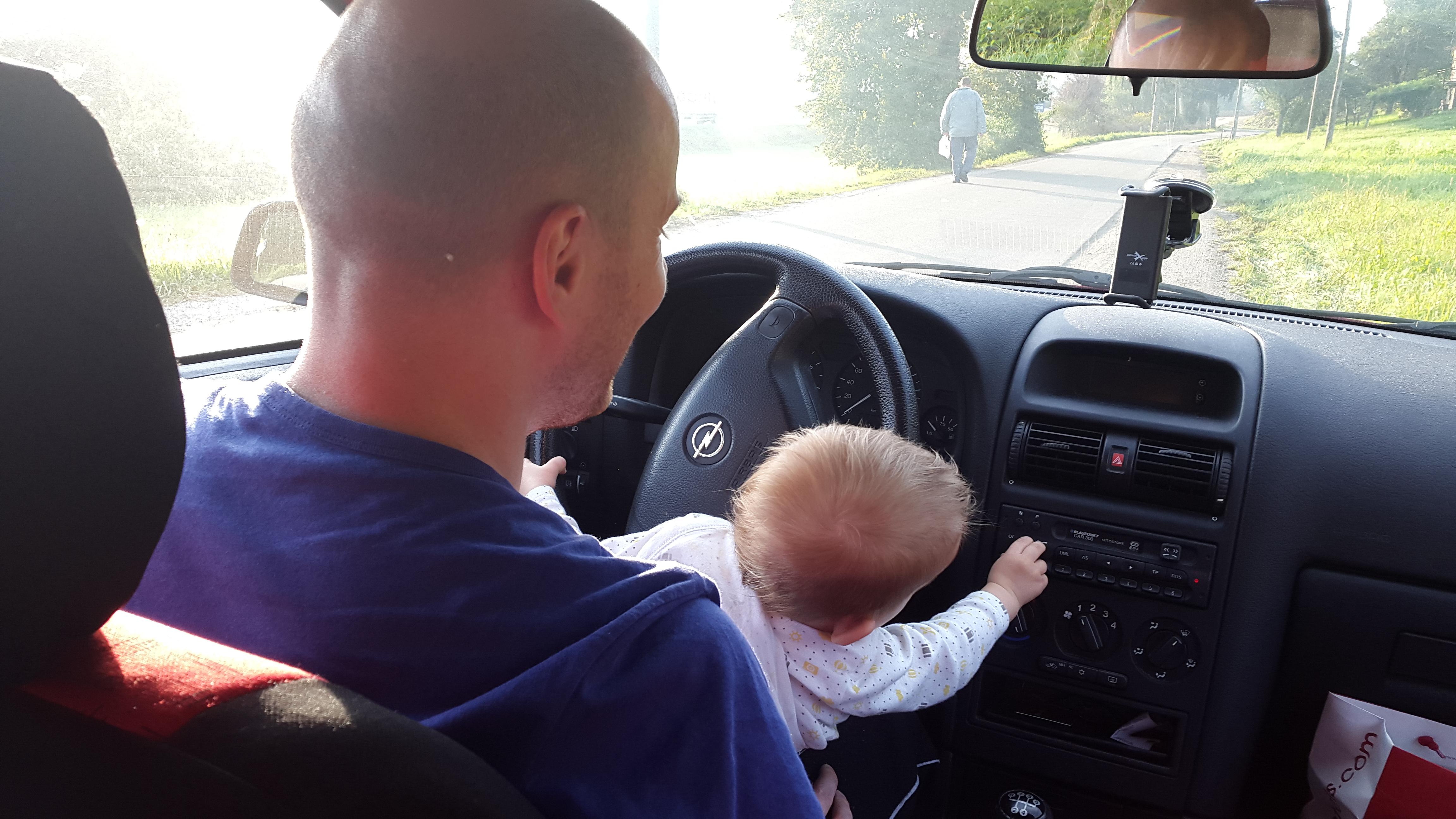 Panowie za kierownicą