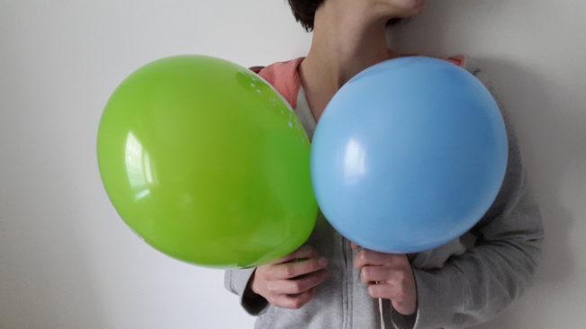 dwa balony